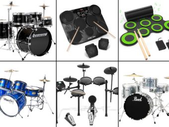 15 Best Drum Sets For Kids To Buy In 2019