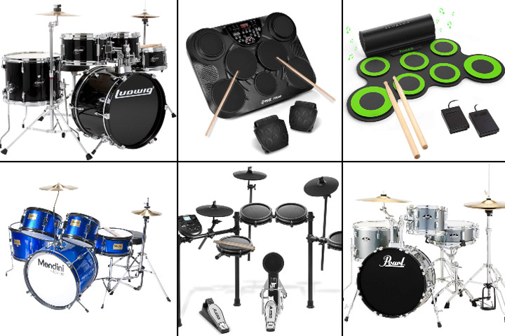 Best Drum Sets For Kids To Buy In 2019