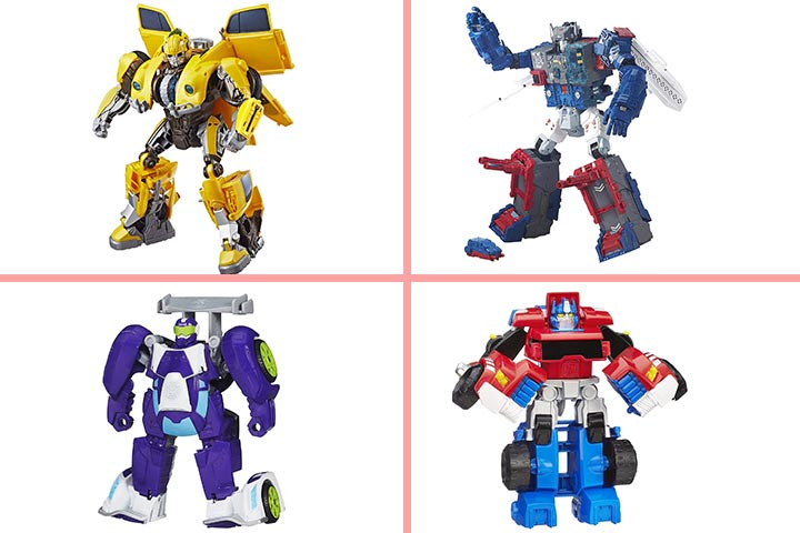 Deformation Airplane Transformer Robot Toy for Kids with LED Sound for Girl Boys