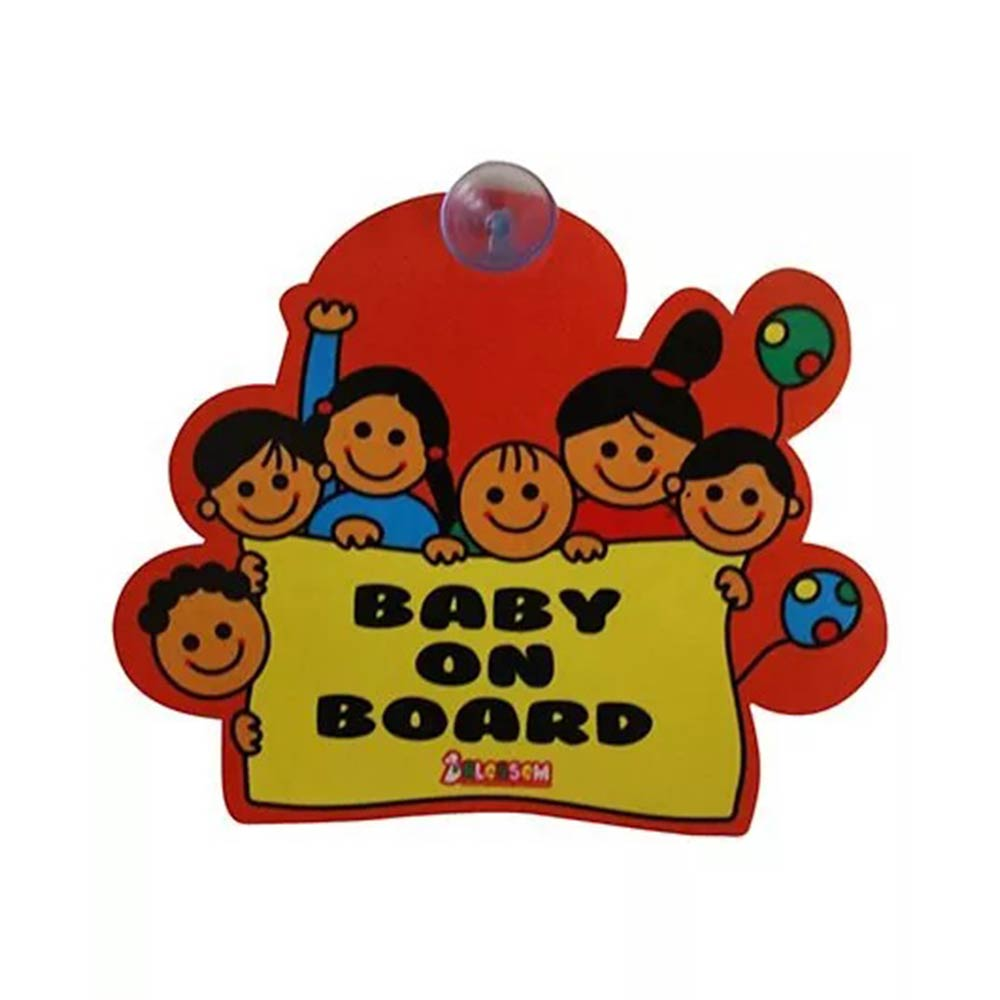 Blossom Car Sign Baby on Board