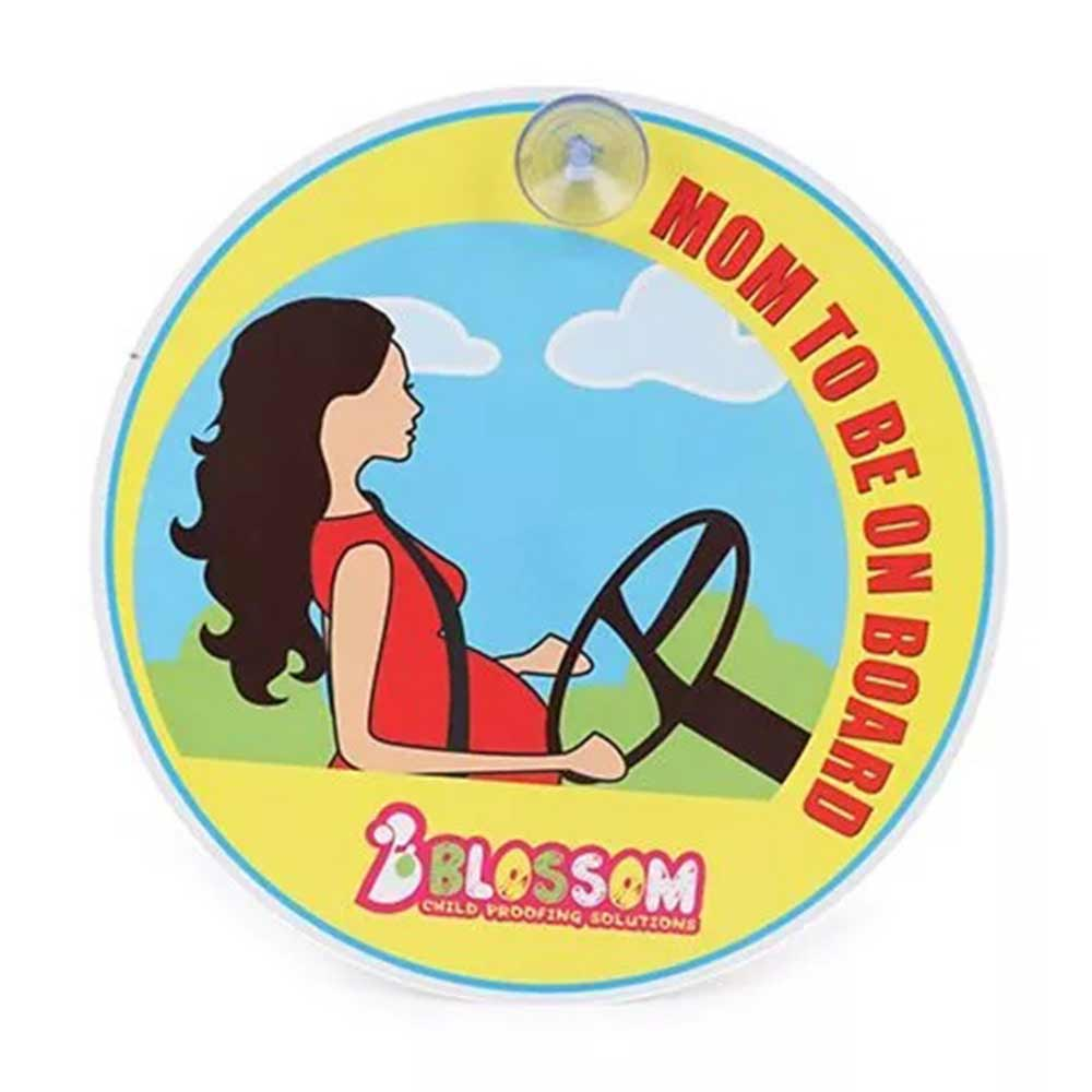 Blossom Child Proofings Mom To Be On Board Sign Board II