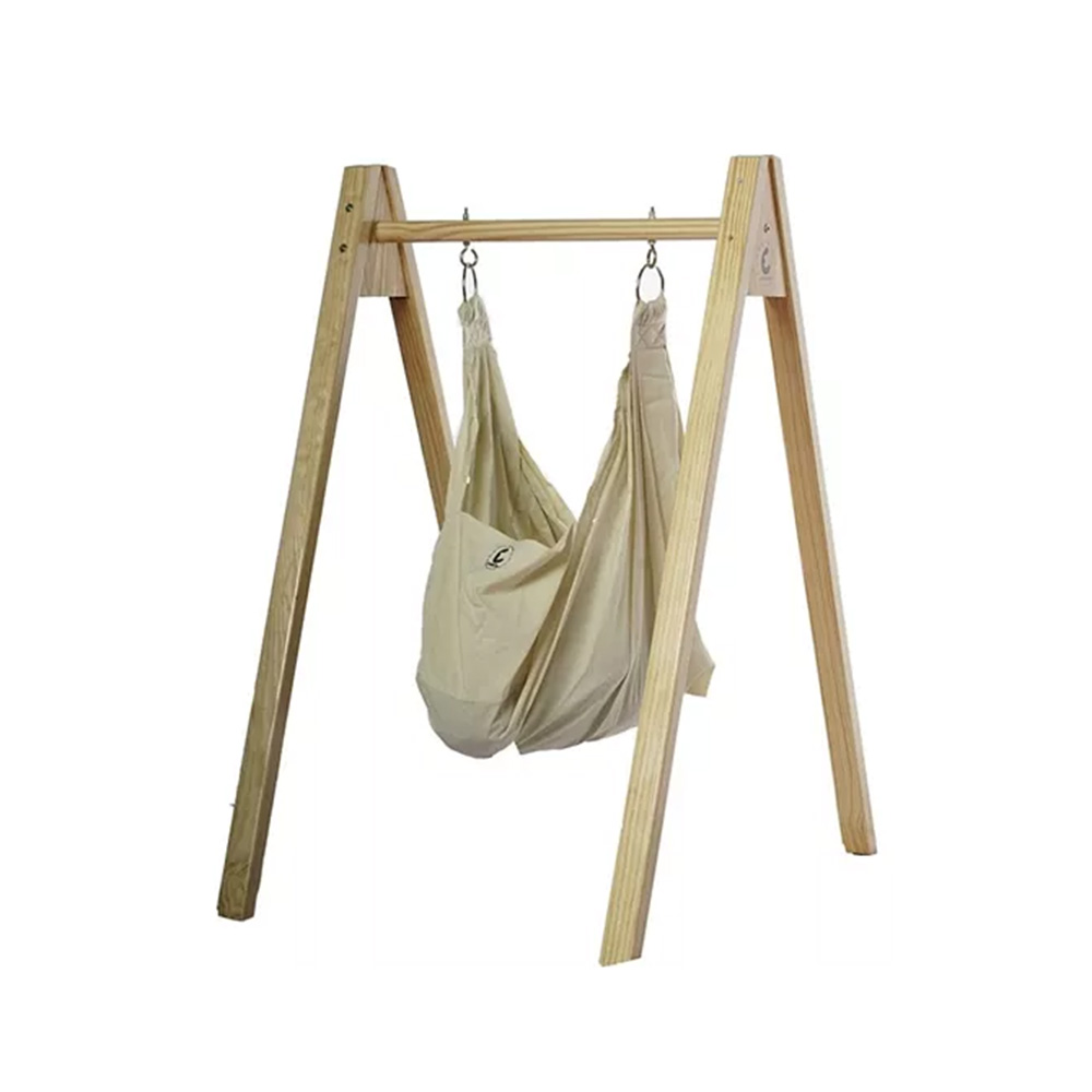 CuddlyCoo Organic Cotton Hammock With Stand