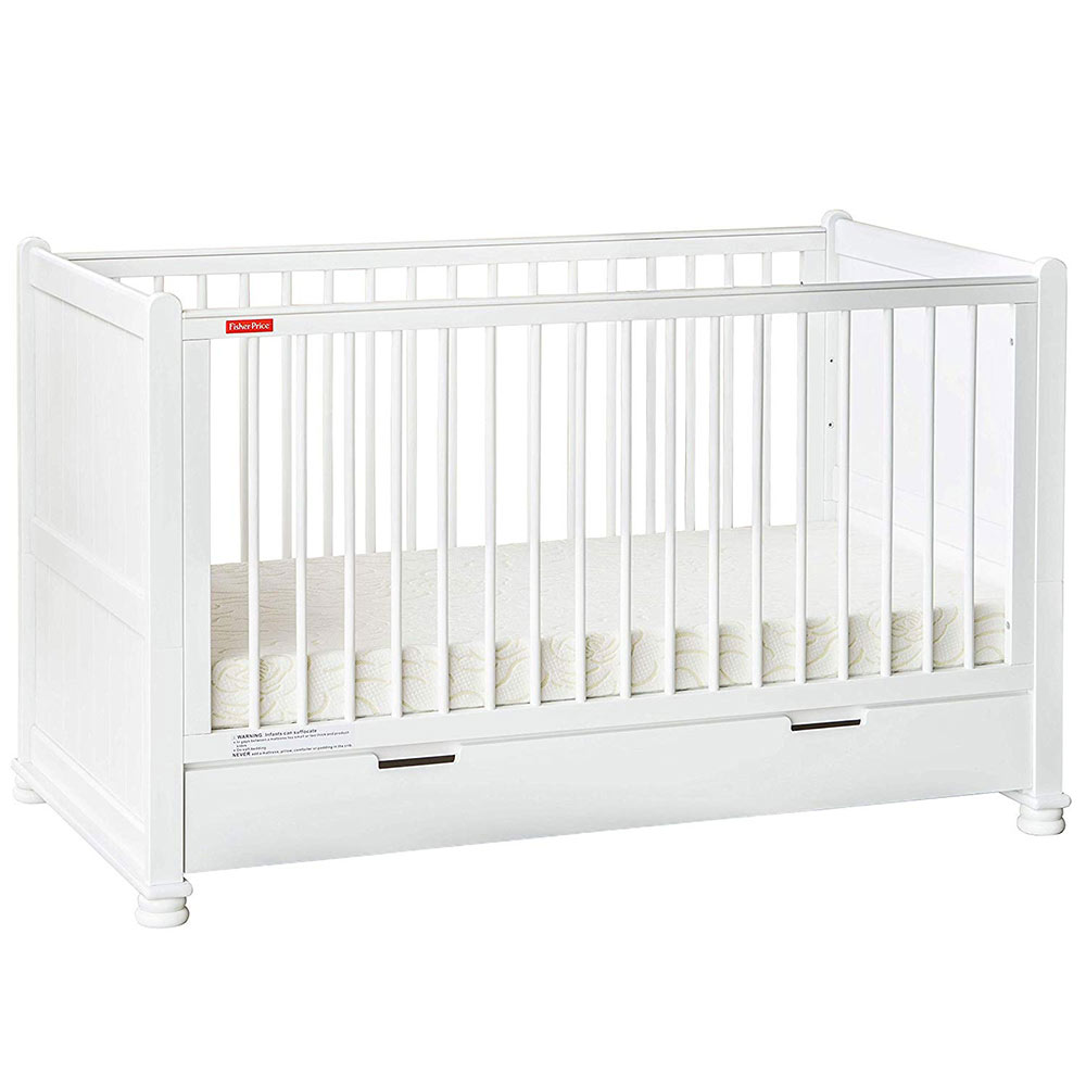 Fisher Price Georgia Wooden Crib Cum Toddler Bed
