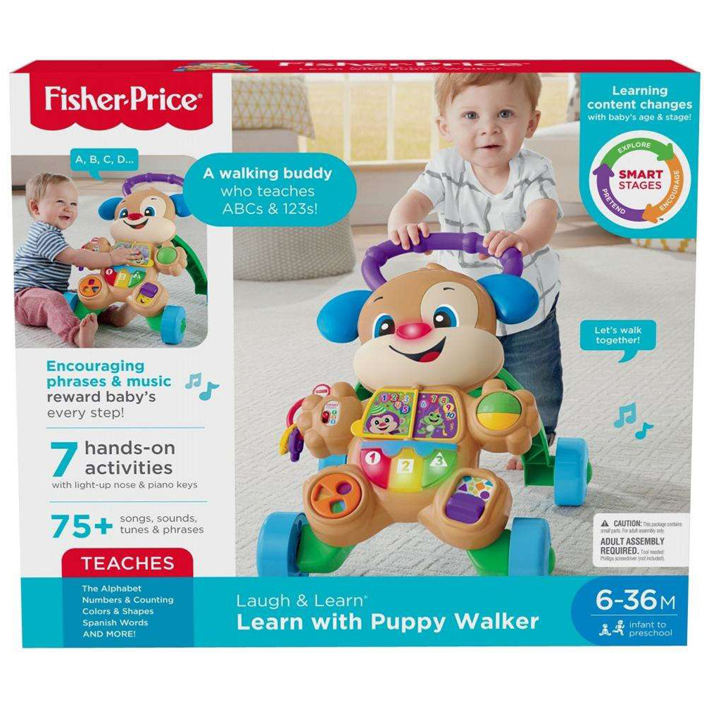 Fisher Price Learn With Puppy Walker-2
