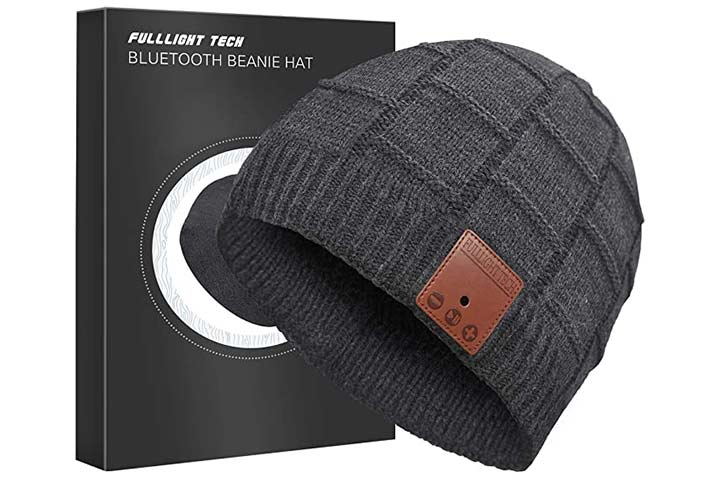 Fulllight Tech Upgraded Bluetooth Beanie Hat with Headphones