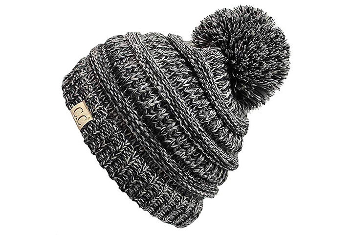 Ande Cute Girls Winter Knitted hat Size 3-5 Years