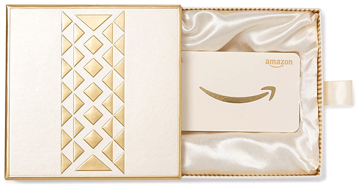 Gift Card In A Premium Gift Box From Amazon