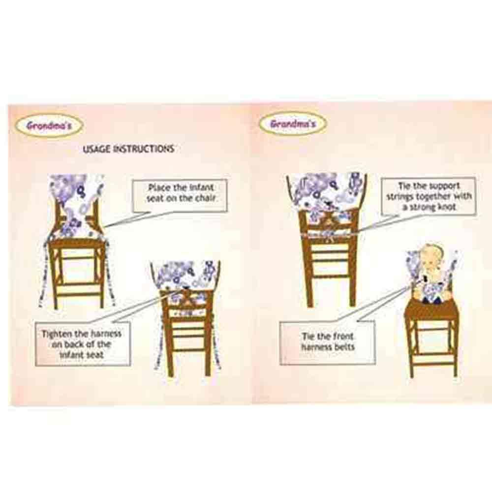 Grandmas Portable Infant Chair Harness