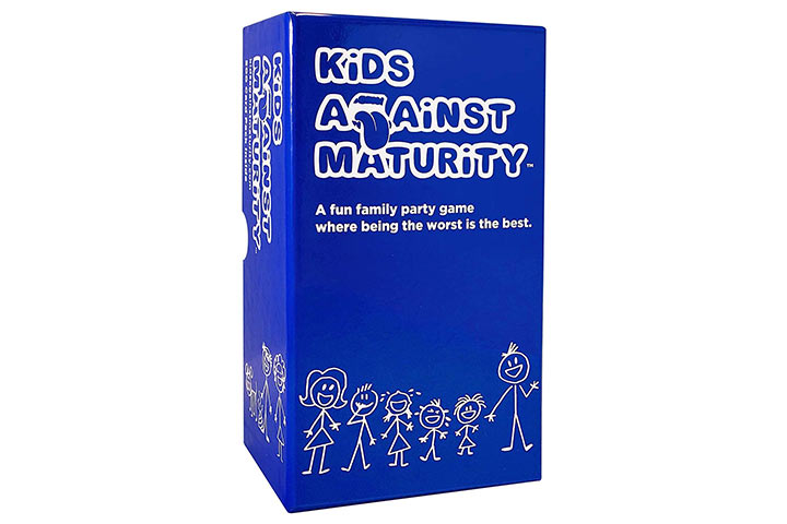 Kids Against Maturity Card Game for Kids and Families