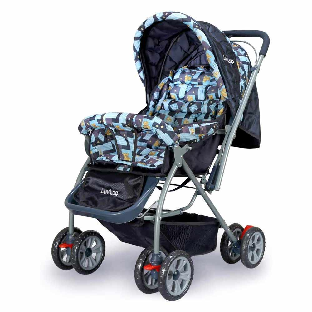 LuvLap Baby Stroller Pram Sunshine  Navy