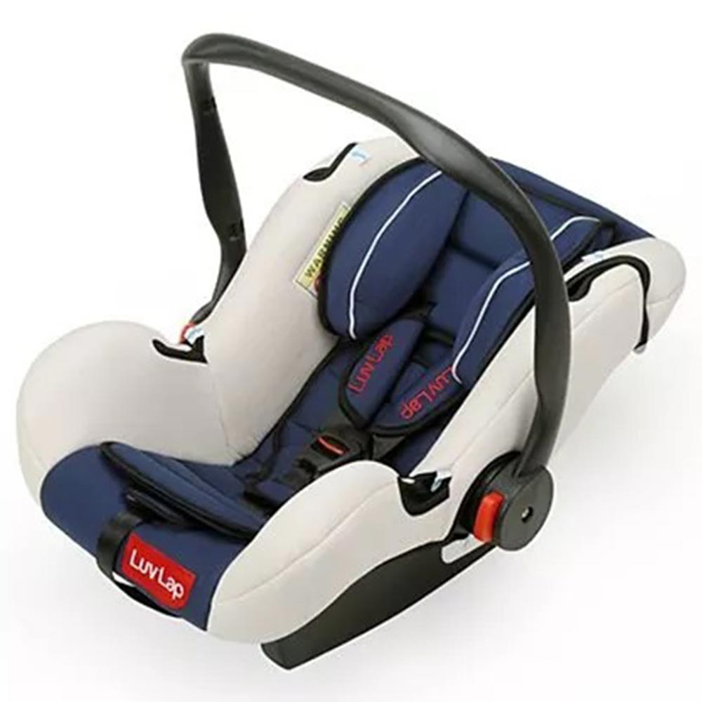 LuvLap Infant Baby Car Seat Cum Carry Cot With Rocker And Canopy