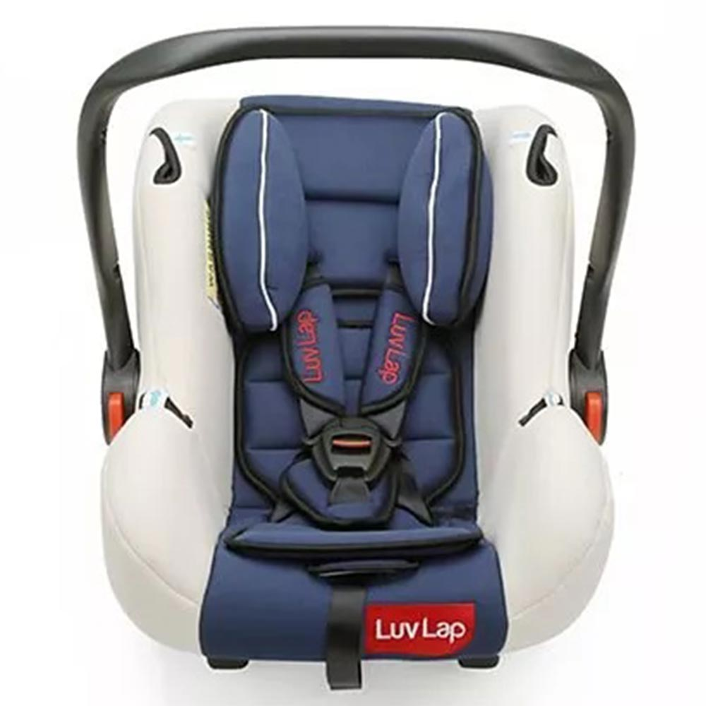 LuvLap Infant Baby Car Seat Cum Carry Cot With Rocker And Canopy-1