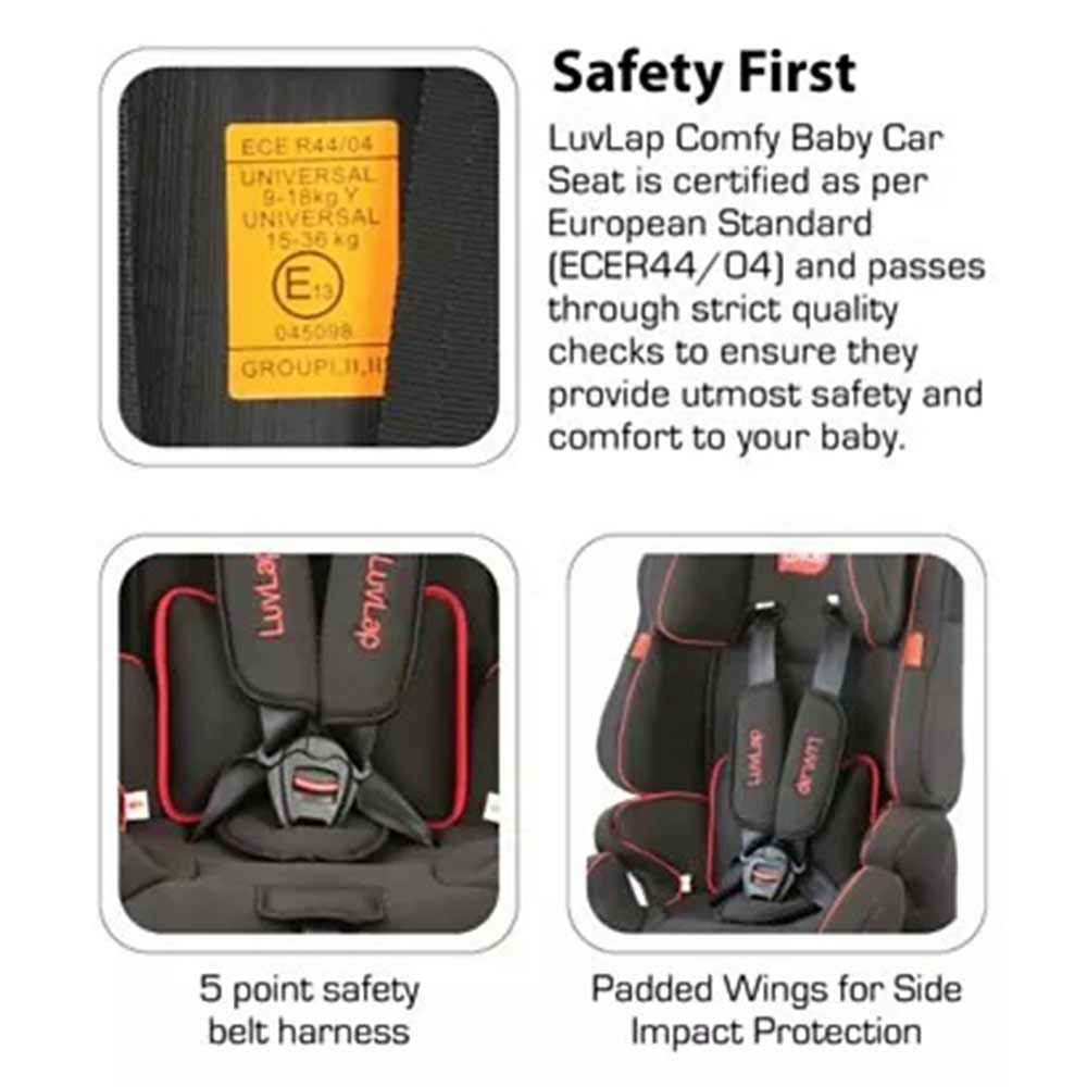 LuvLap Premier Baby Car Seat-2