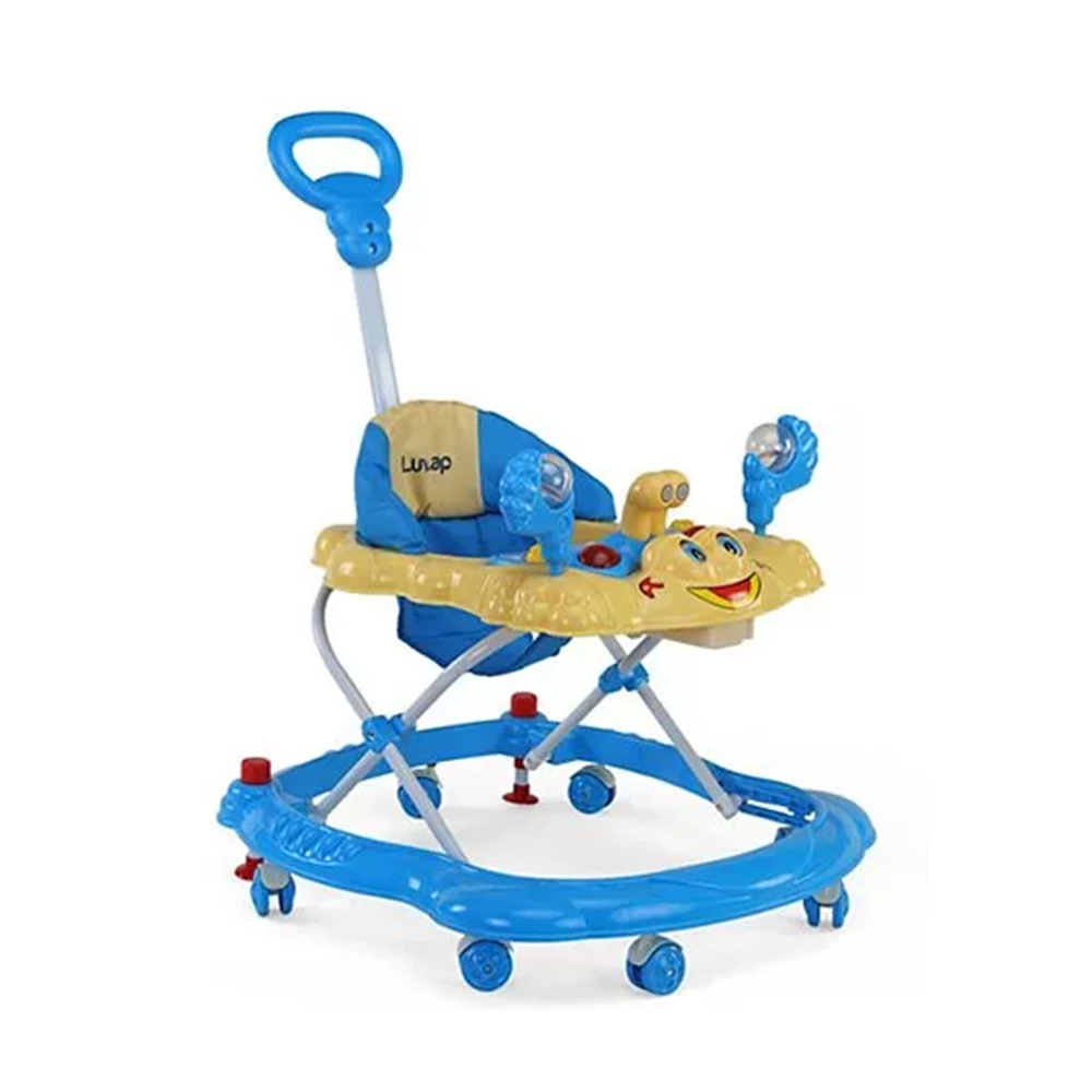 LuvLap Sunshine Baby Walker With Adjustable Height & Stopper