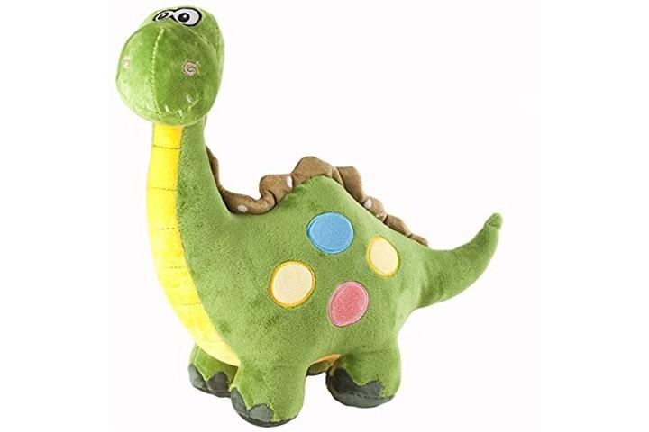 Marsjoy Green Stuffed Dinosaur Plush Stuffed Animal