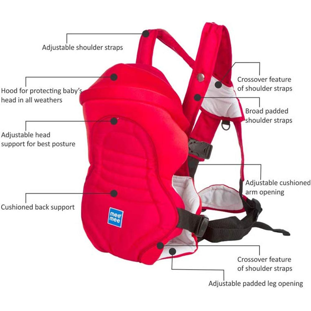 Mee Mee 6 Position Premium Baby Carrier