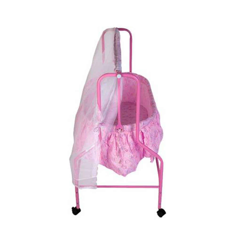 Mee Mee Baby Cradle With Swing And Mosquito Net-3