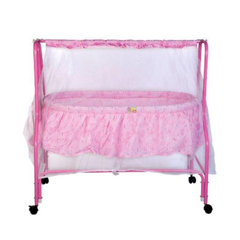 Mee Mee Baby Cradle With Swing And Mosquito Net