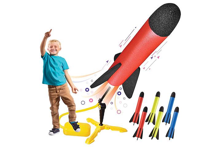 Motoworx Toy Rocket Launcher