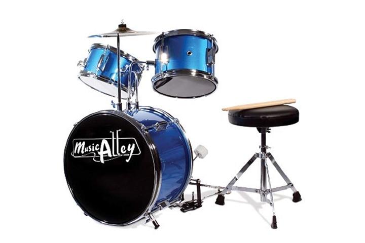Music Alley Kids 3 Piece Beginners Drum Kit