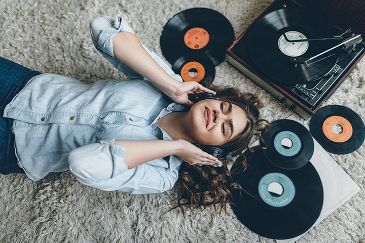 Music CDs and records