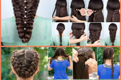 25 Best Braided Hairstyles For Girls
