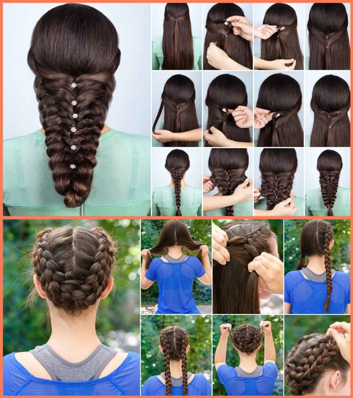 New 25 Best Braided Hairstyles For Girls