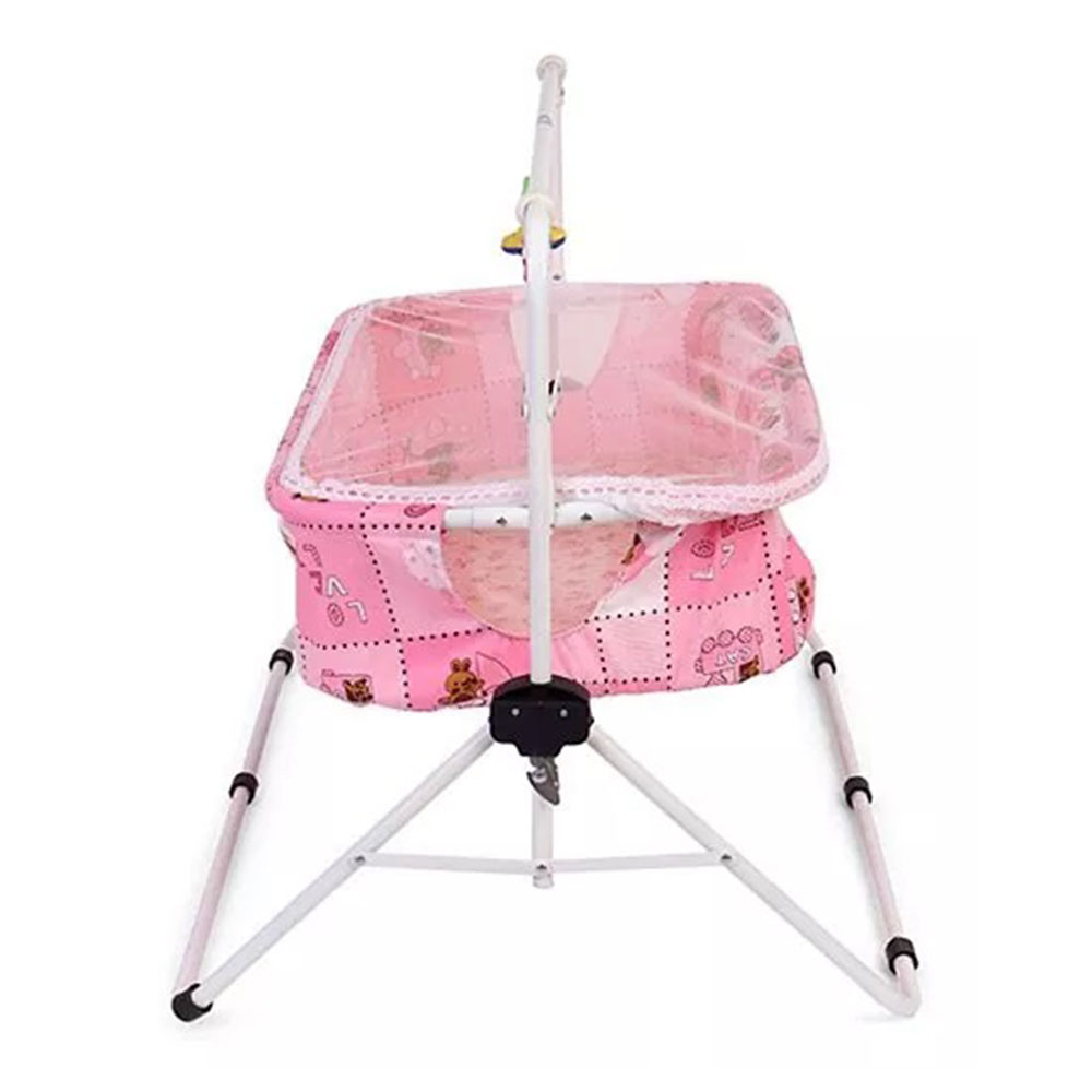 New Natraj Comfy Cradle With Play Toys-1