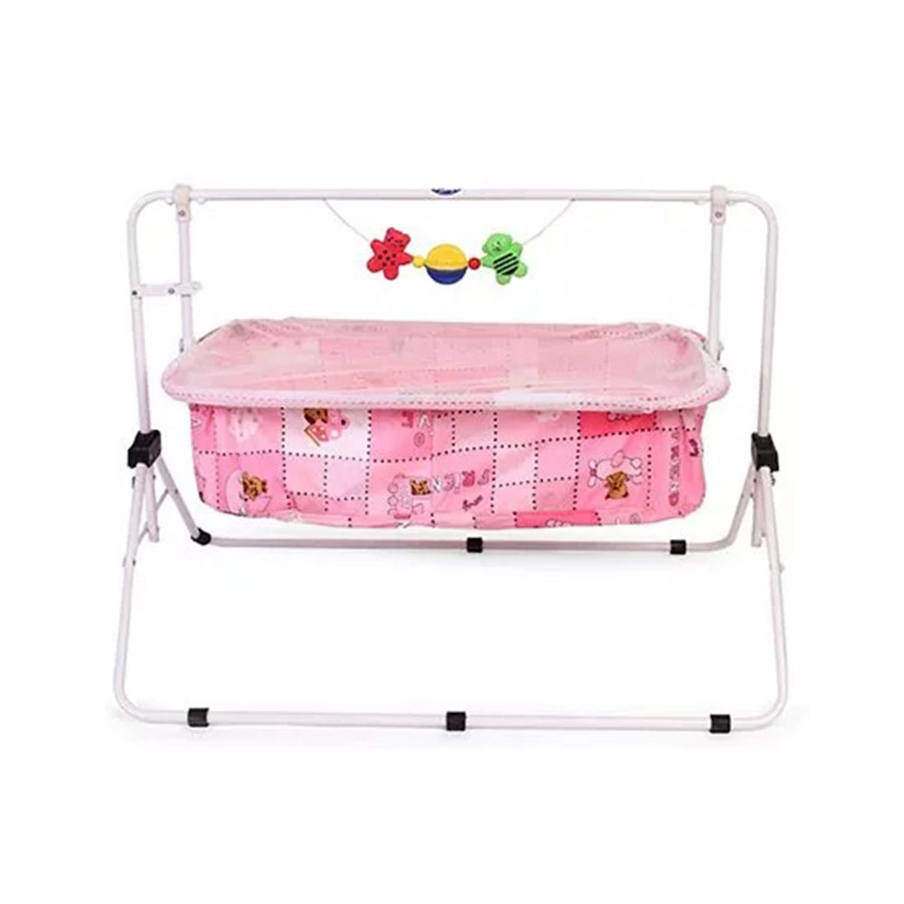 New Natraj Comfy Cradle With Play Toys-0