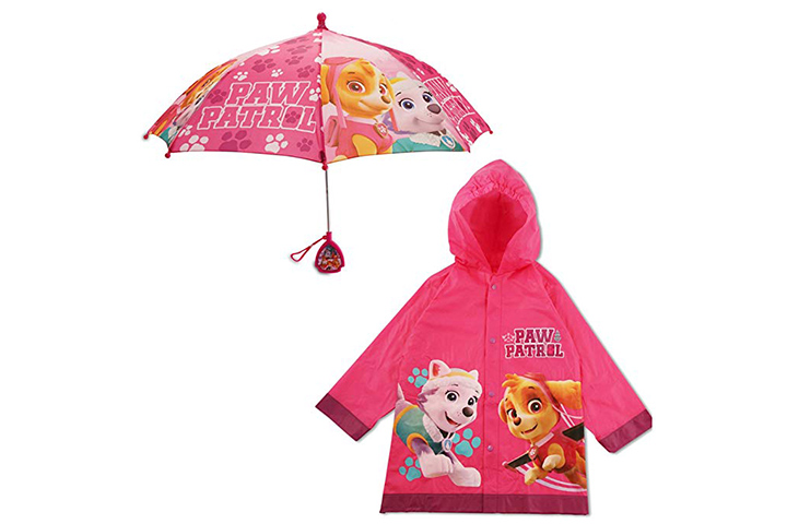 Nickelodeon character umbrella set