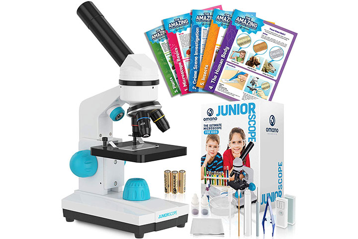 Omano JuniorScope Microscope for Kids