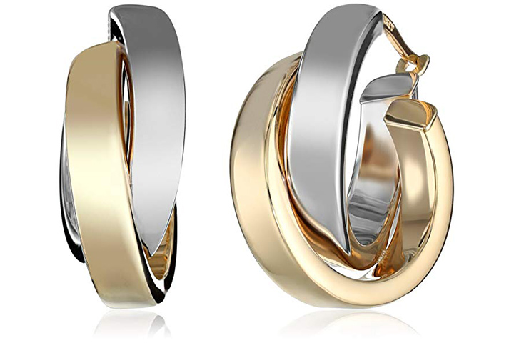 Overlapping hoops by Eternity gold