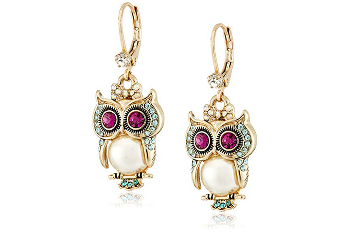 Owl drops by Betsey Johnson