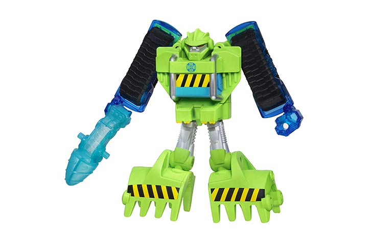 Playskool Heroes Transformers Boulder the Construction-Bot