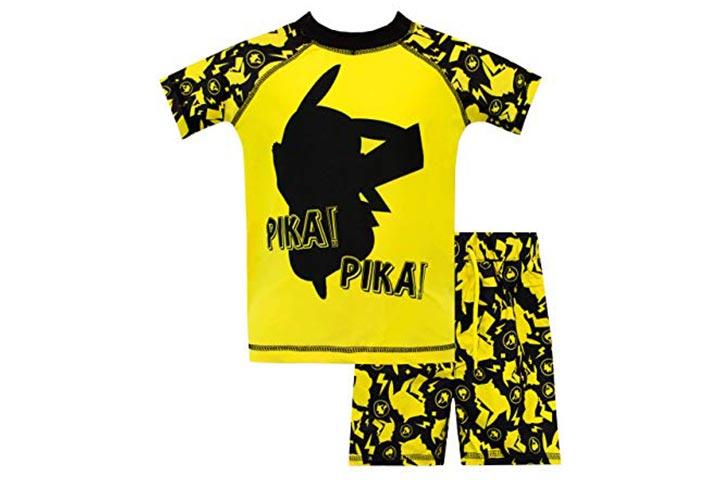 Pokemon and Pikachu two-piece swimsuit