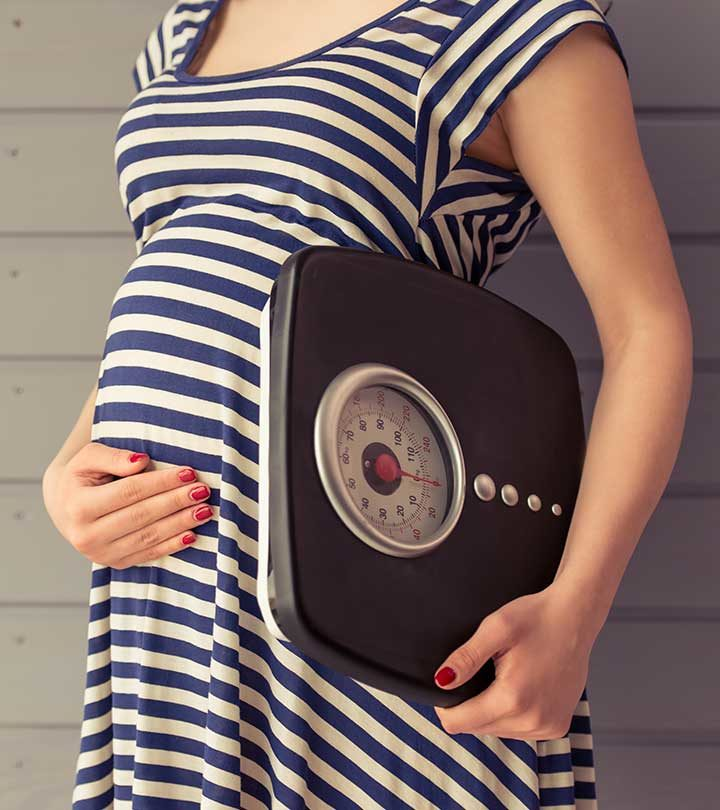Pregnancy Me Weight Kitna Hona Chahiye