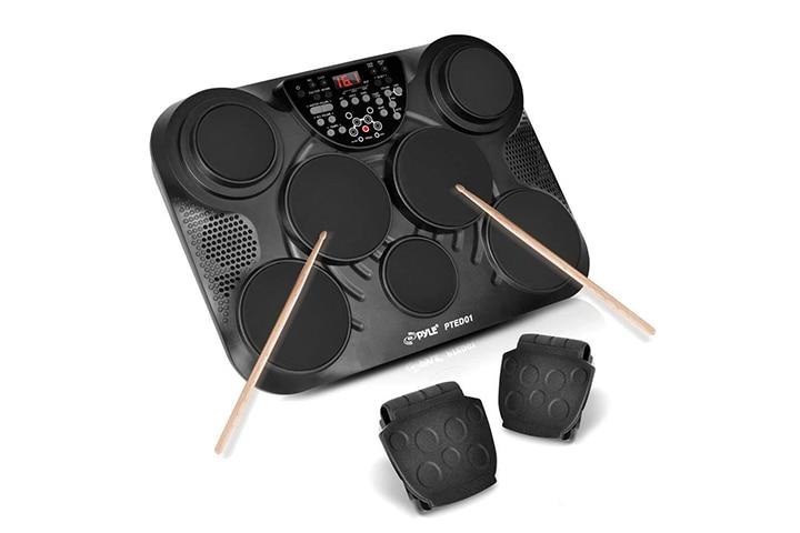 PylePro Tabletop Drum Set