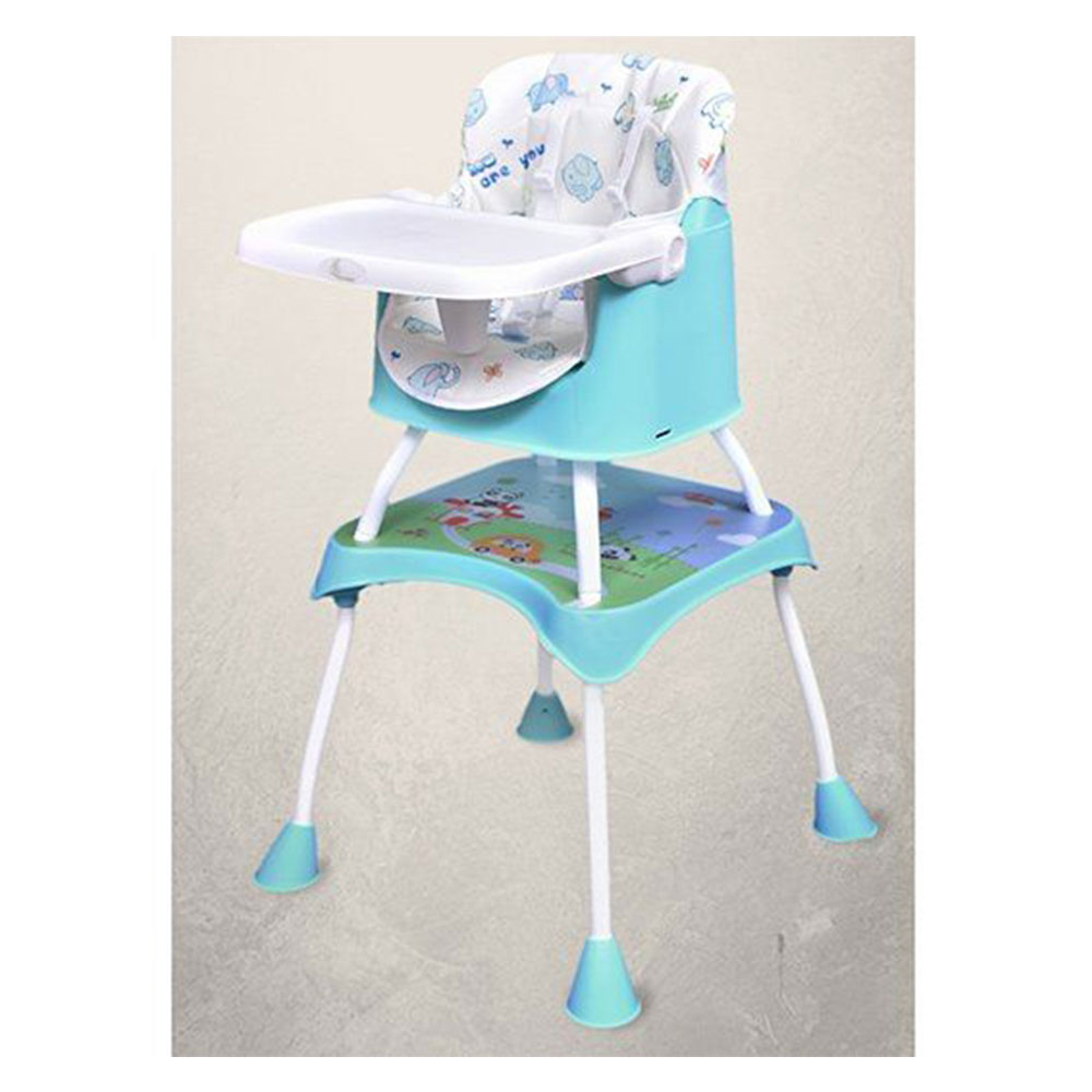 R for Rabbit Cherry Berry Grand The Convertible 4 in 1 High Chair Elephant Print-1