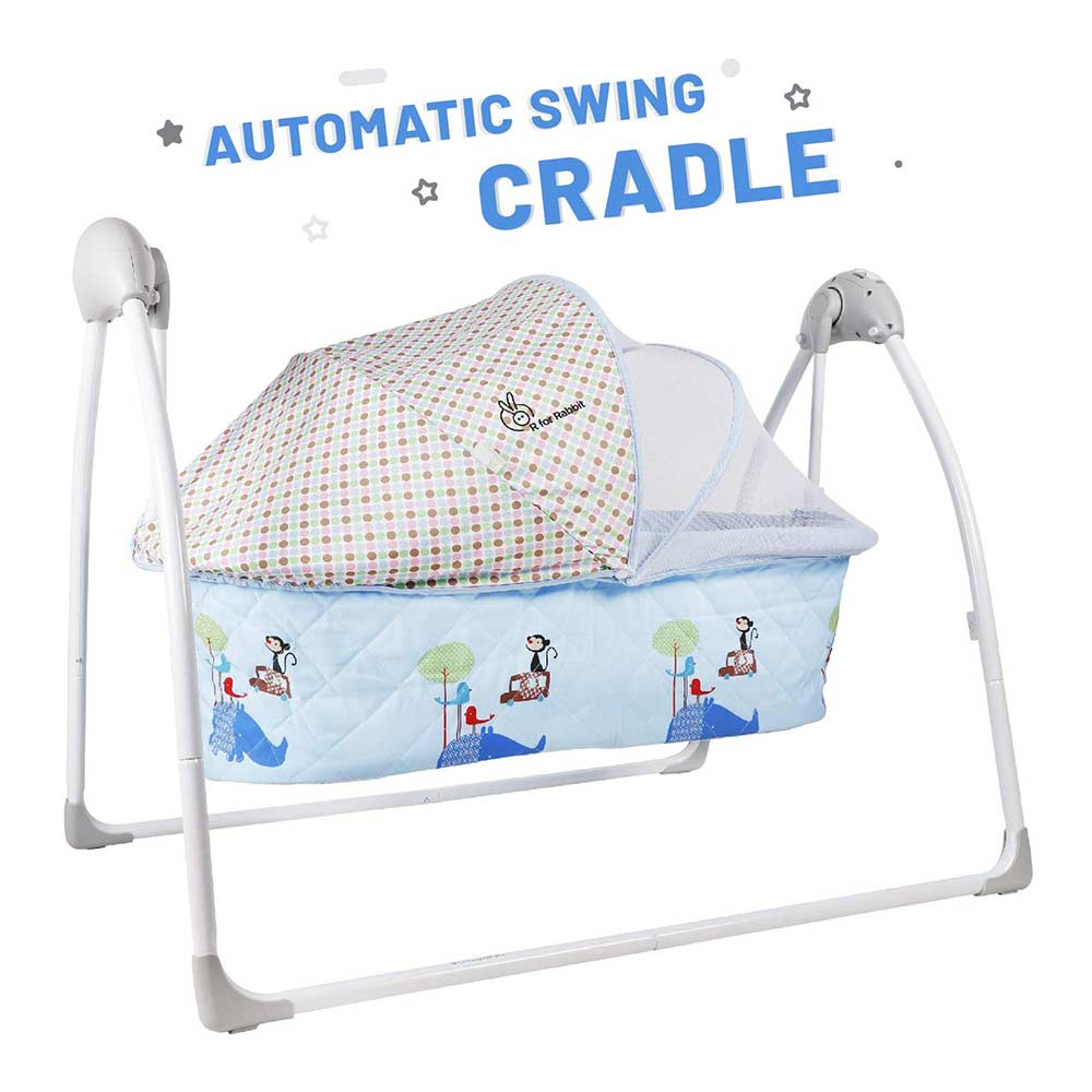 R for Rabbit Lullabies The Auto Swing Baby Cradle