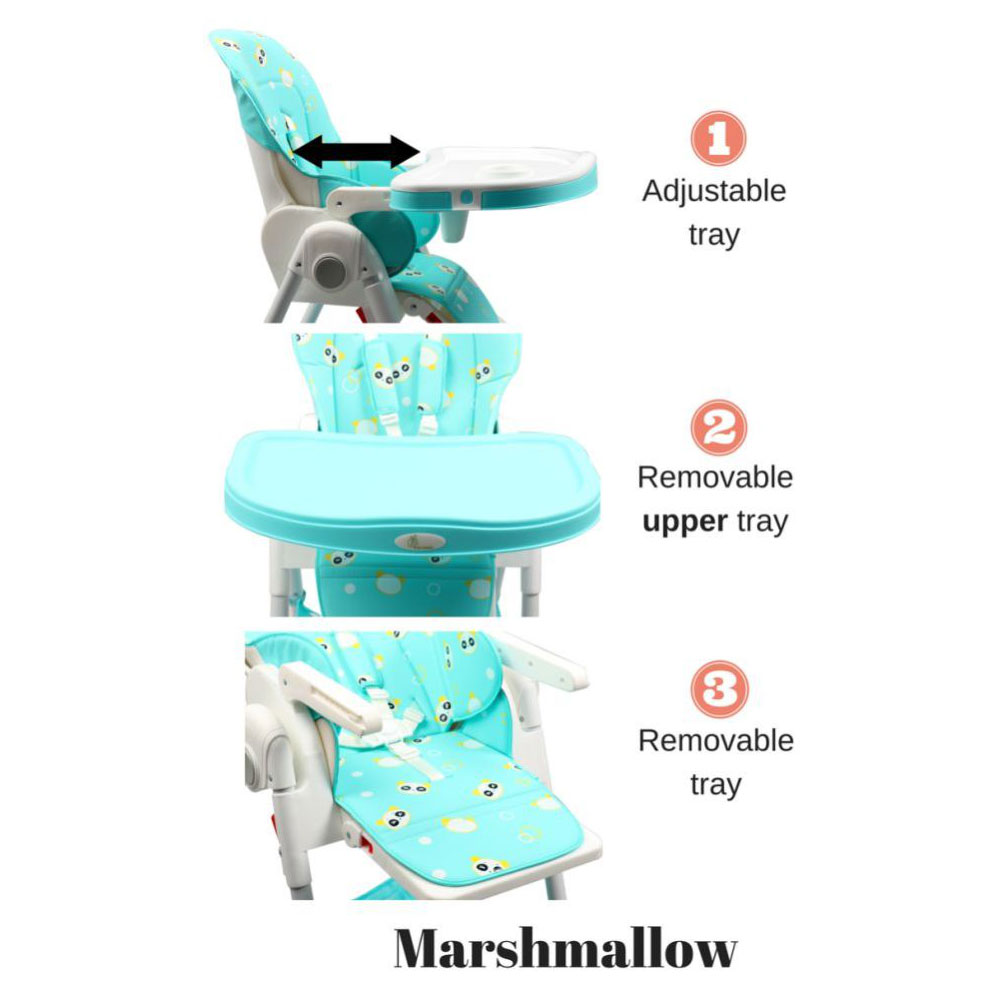 R for Rabbit Marshmallow Smart High Chair-2