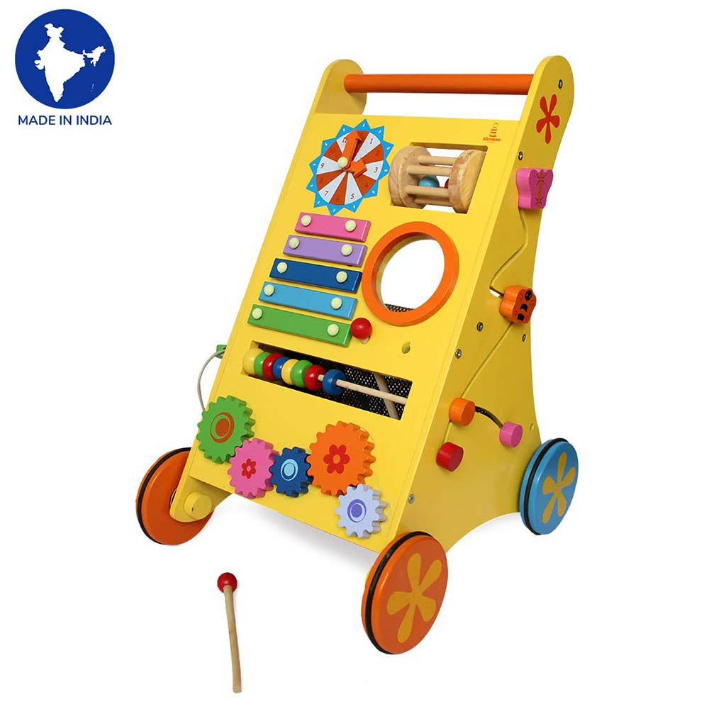 Shumee Musical Activity Baby Walker-0