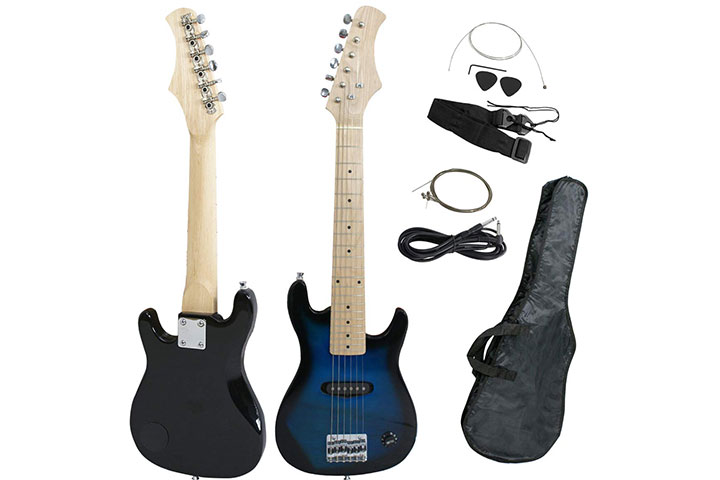Smartxchoices Mini Kids Electric Guitar
