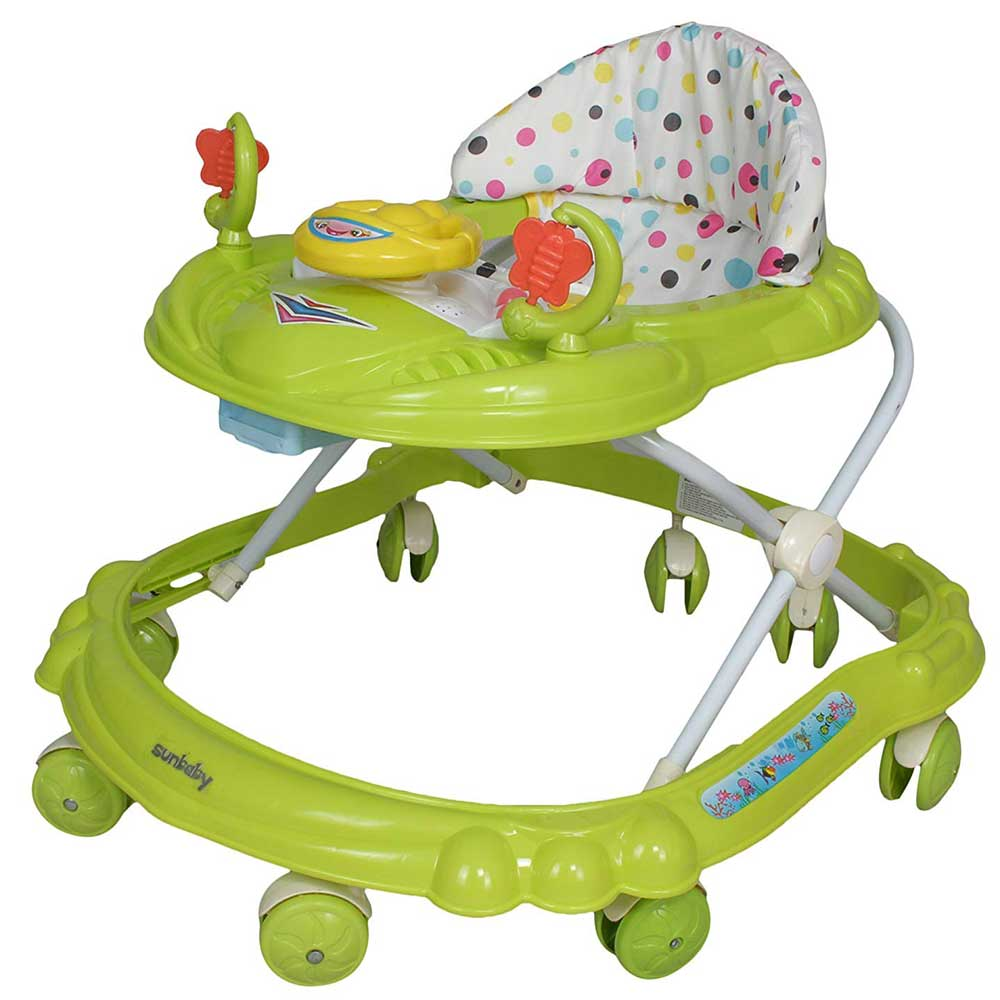 Sunbaby Ride-On Walker With Play Tray