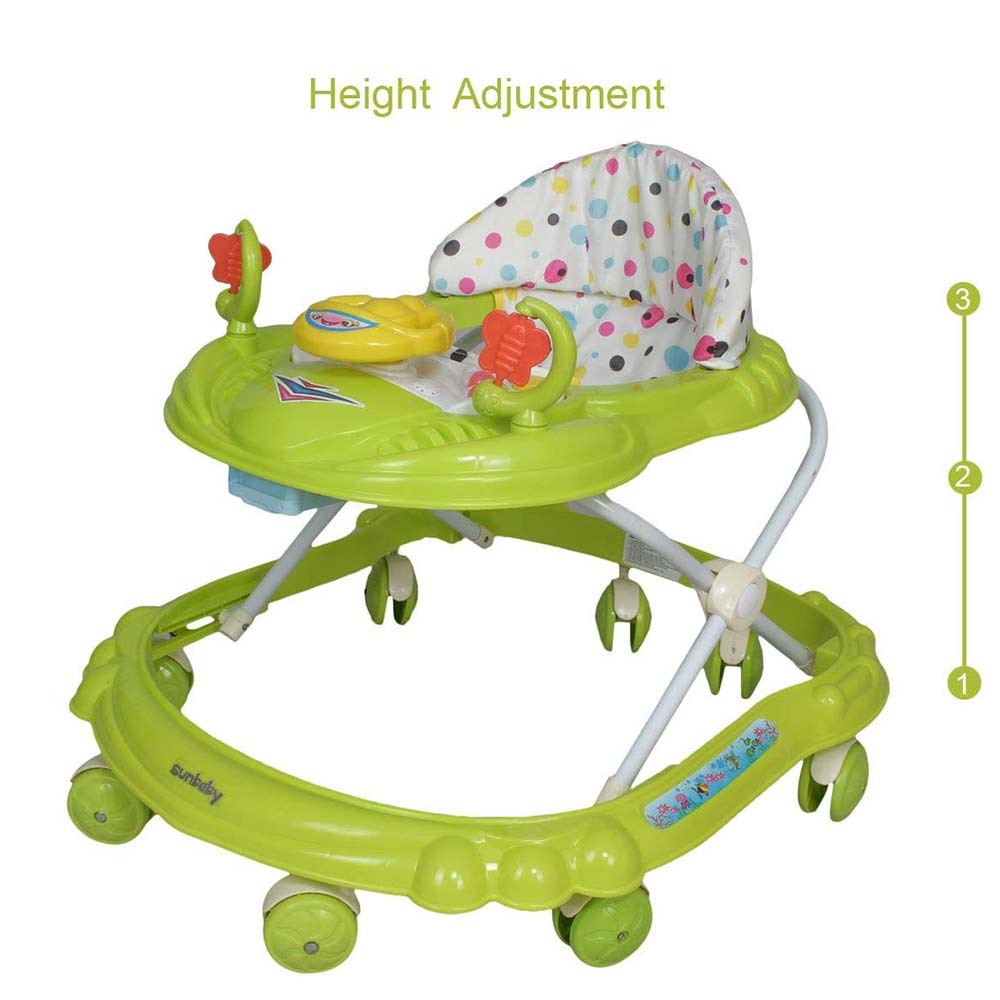 Sunbaby Ride-On Walker With Play Tray-2