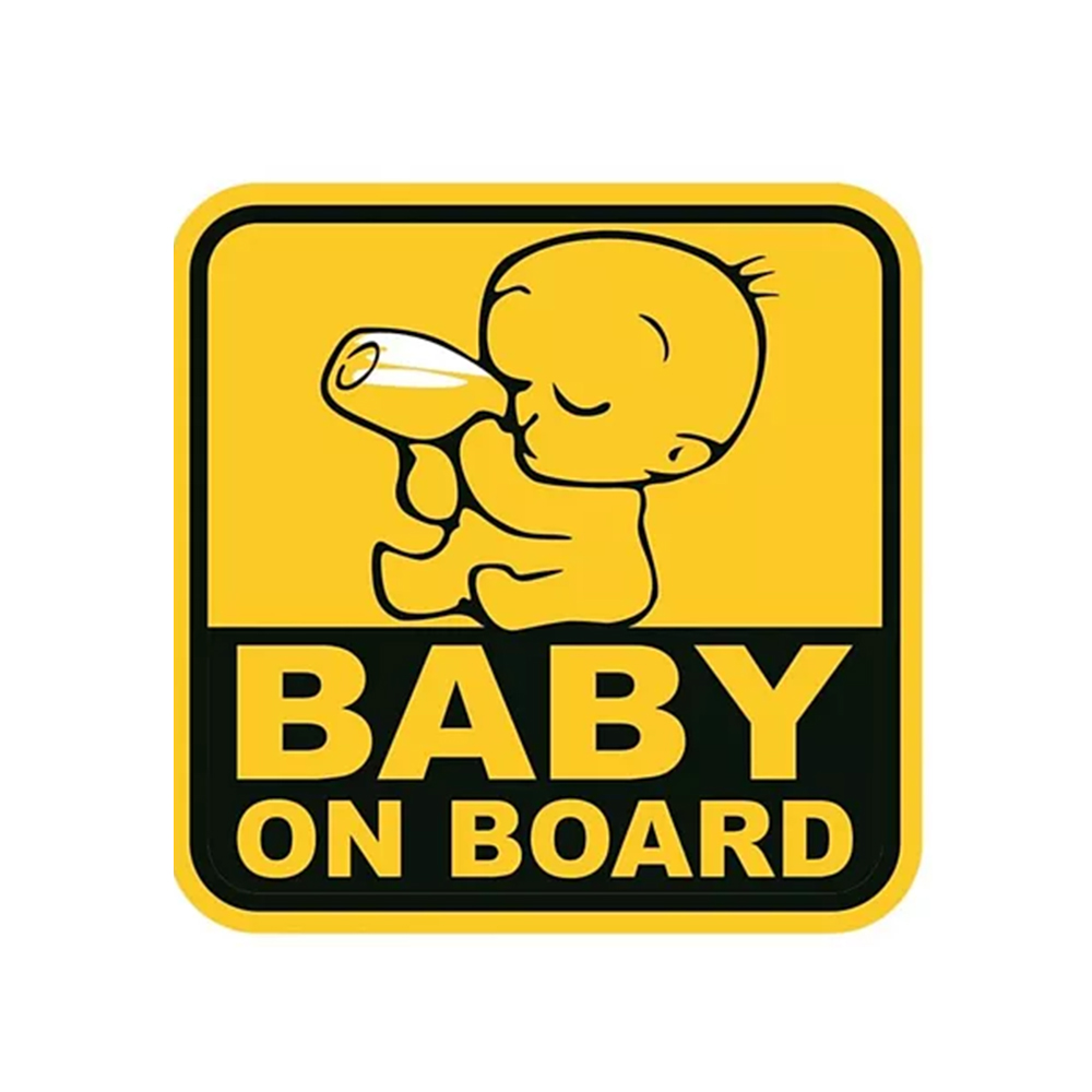 Syga Baby On Board Car Sticker