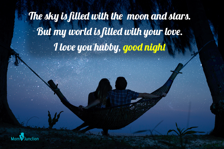 Romantic Good Night Messages for Husband