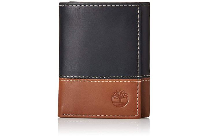 Timberland-leather-trifold-wallet