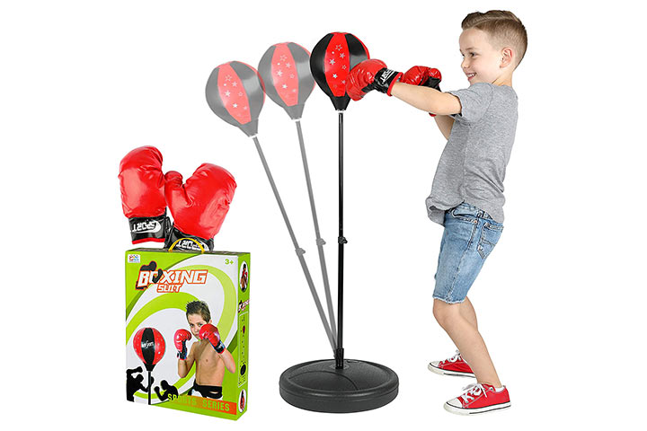 ToyVelt Punching Bag For Kids Boxing