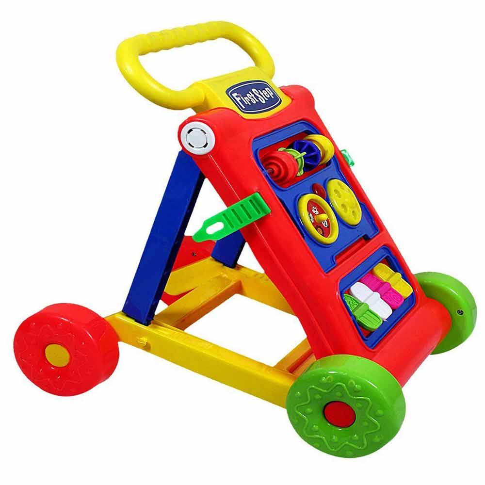 Toyshine Rattling Push Walker-0