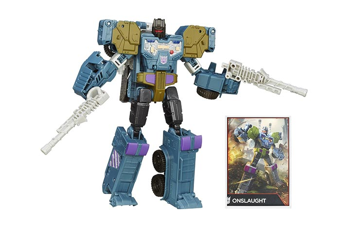 Transformers Generations Voyager Class Onslaught Figure